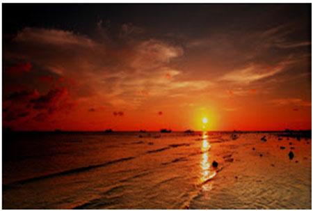 khám phá vẻ đẹp vịnh triều dương